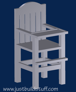 diy high chair plan