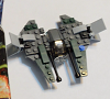 Build of Lego Star Wars Anakin's Jedi Intercepter 30244