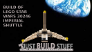 Build of Lego Imperial Shuttle 30246 Polybag