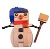 Build of Lego Creator Snowman 30197