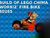 Lego Chima Worriz' Fire Bike 30265 Build Review