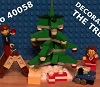 Lego Decorating the Tree 40058 -Build Review with Funny Intro