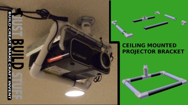 ceiling_mounted_projector bracket